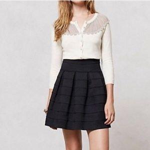 Anthropologie Ponte Bell Skirt